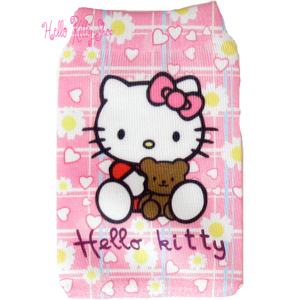 Hello Kitty Mobiltelefon/mp3 skyddsfodral