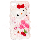 Hello Kitty iPhone 4G Skal 3D
