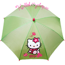 Hello Kitty Paraply Lime