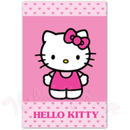 Hello Kitty Handduk