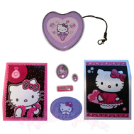 Hello Kitty Superstar Stickers and Box